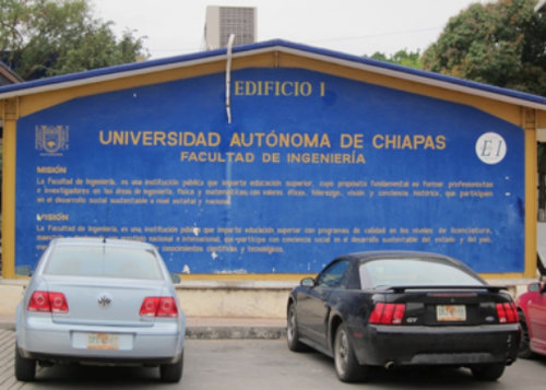 Entrance to UNACH in Tuxtla Gutiérrez, the capital of Chiapas - Ceramic Water Filter Solutions