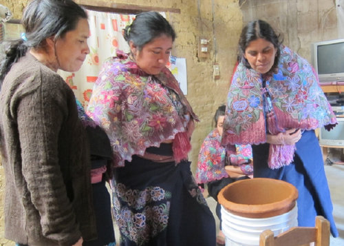 Filter education in the village of Zinacantán, Chiapas - Ceramic Water Filter Solutions