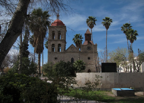 The village church of San Jose in Cuatrociénegas - Ceramic Water Filter Solutions