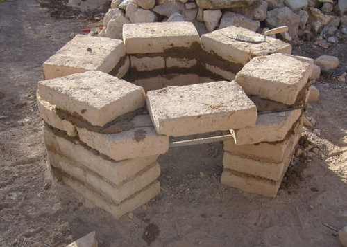 No kiln? No problem! Building a kiln from adobe brick - Ceramic Water Filter Solutions