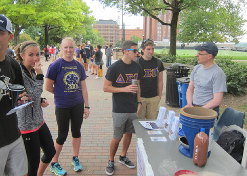 Water Walk at Duquesne University Pittsburgh, Pennsylvania September, 2015 - Ceramic Water Filter Solutions